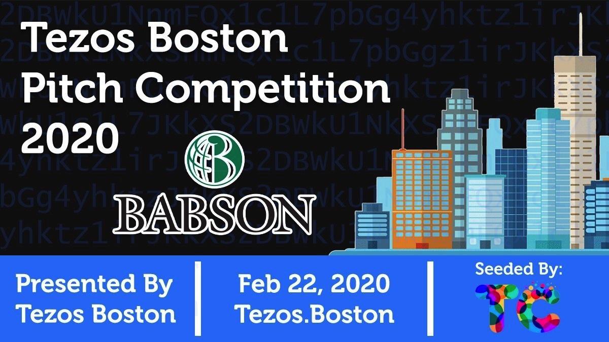 Tezos Boston Pitch Competition