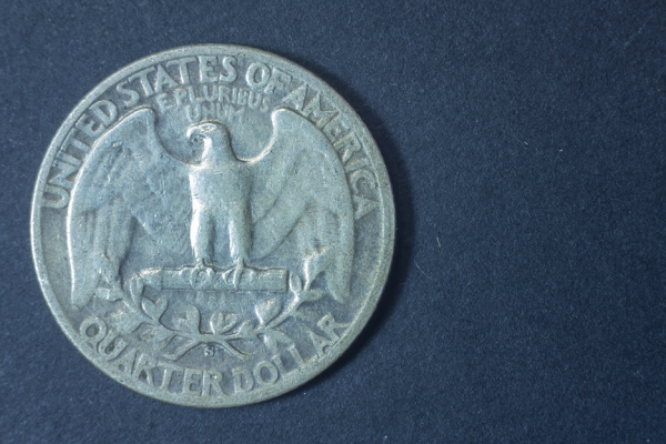 US quarter coin